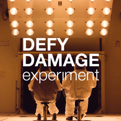 Defy Damage Experiment