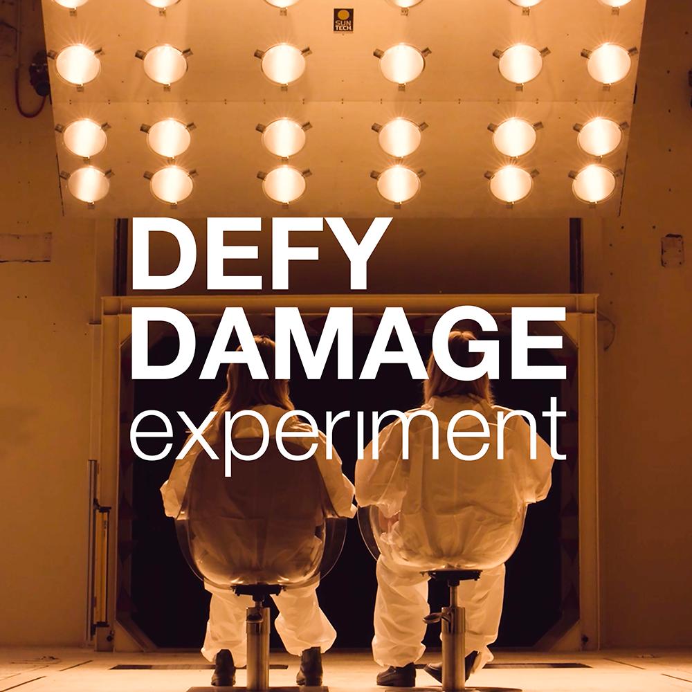 Defy Damage Experiment