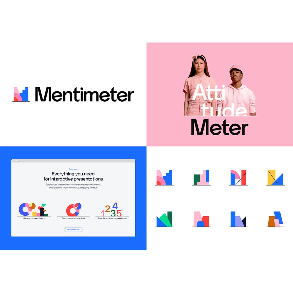 Mentimeter - Visuell identitet